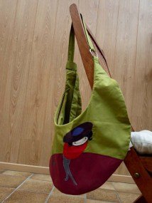 handbag moon rosali hanging