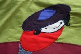 handbag round rosali detail character