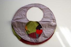 handbag round rosali half open