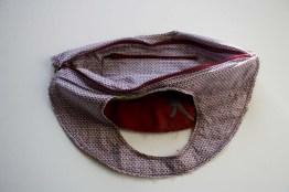 handbag round rosali open