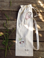 Visser, natural series, 70/24 cm with strap