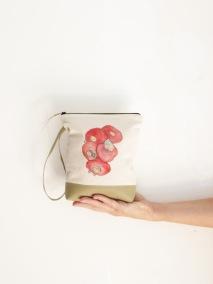 cosmetics bag handpainted 2