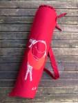 KusKat, wine red French bread bag, sling bag, 70/24 cm